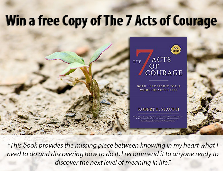 Win a copy of The Seven Acts of Courage | theactsofcourage.com