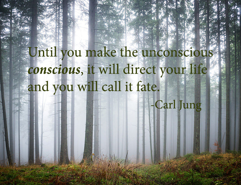 """Until you make the unconscious conscious, it will direct your life and you will call it fate."" - Quote by Carl Jung"